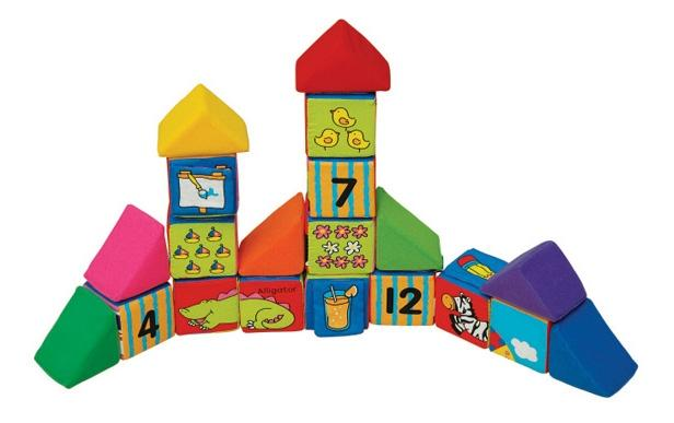 Купить Кубики мягкие K's Kids Учись, играя, Развивающие кубики