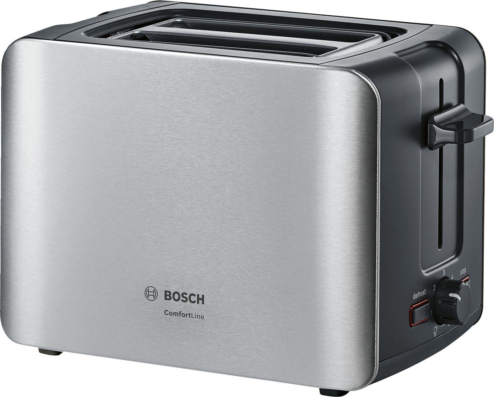 Тостер Bosch ComfortLine TAT6A913 Silver