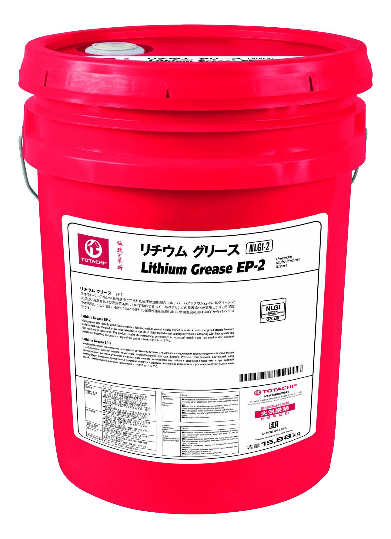 Смазка консистентная Totachi Lithium Ep 2