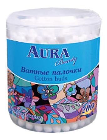 Купить 200 шт, Aura AURA Палочки 200шт стакан, Детские ватные палочки