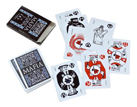 Купить Мафия Пластиковые карты, Мафия. Пластиковые карты, Magellan,