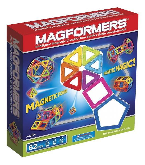 Конструктор Magformers Магнитный 62 детали фото