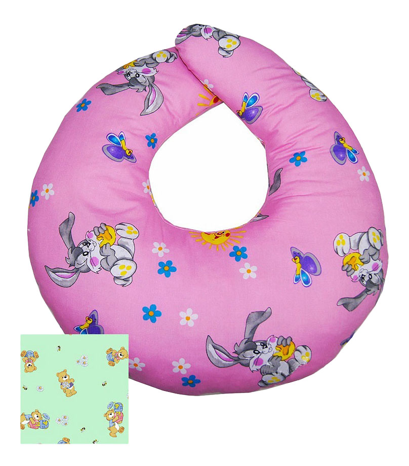 Подушка для кормления АРСИ розовая