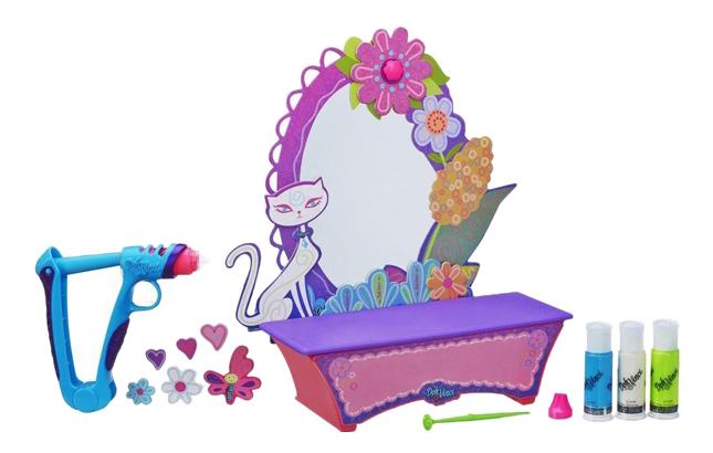 Купить Набор для лепки из пластилина Hasbro Play-Doh Стильный туалетный столик, DohVinci, Лепка