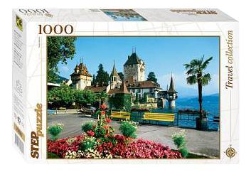 Пазл Step Puzzle Швейцария,Оберхоффен 1000 деталей