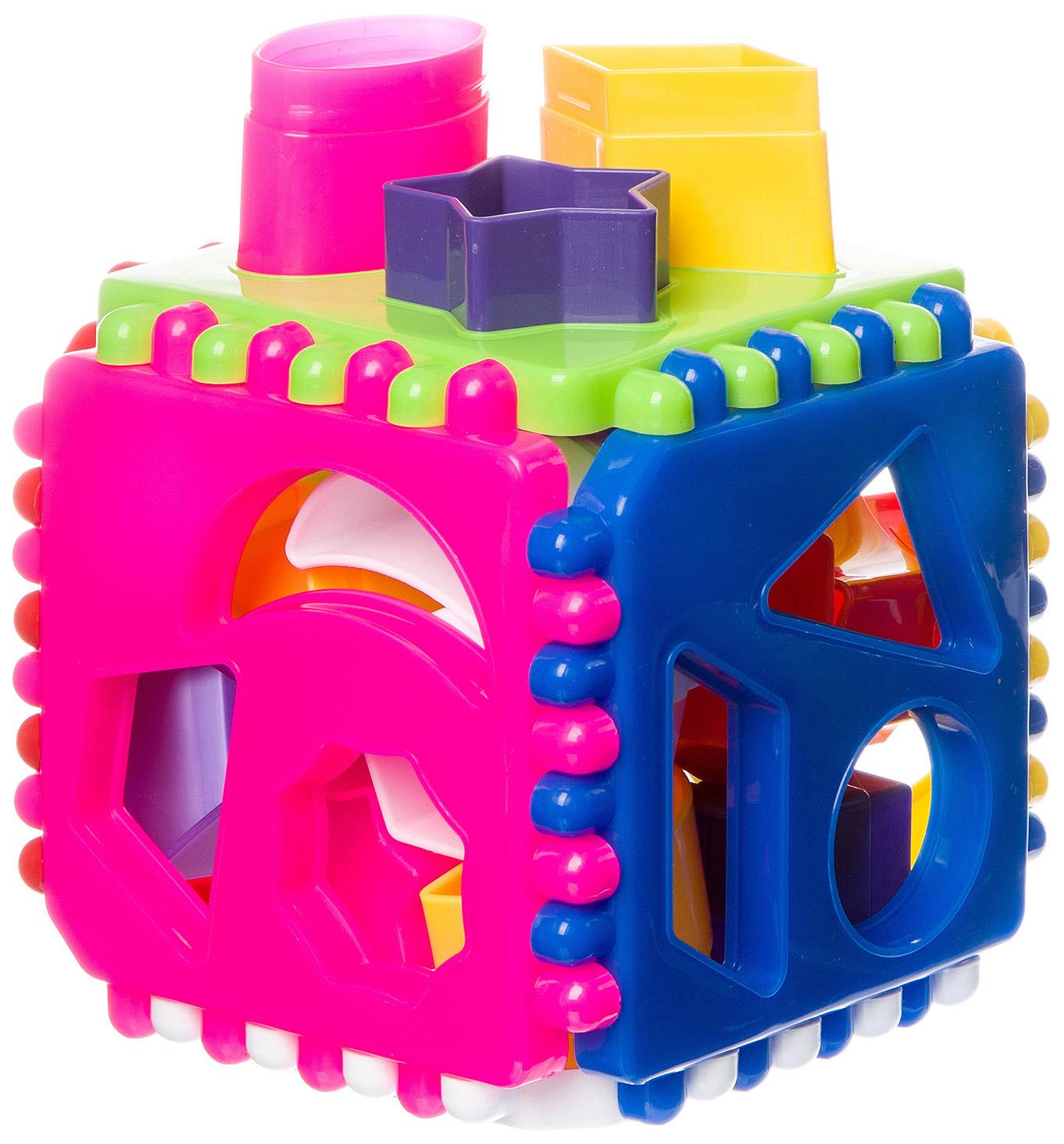 Развивающая игрушка Stellar Куб логический подарочный 1316