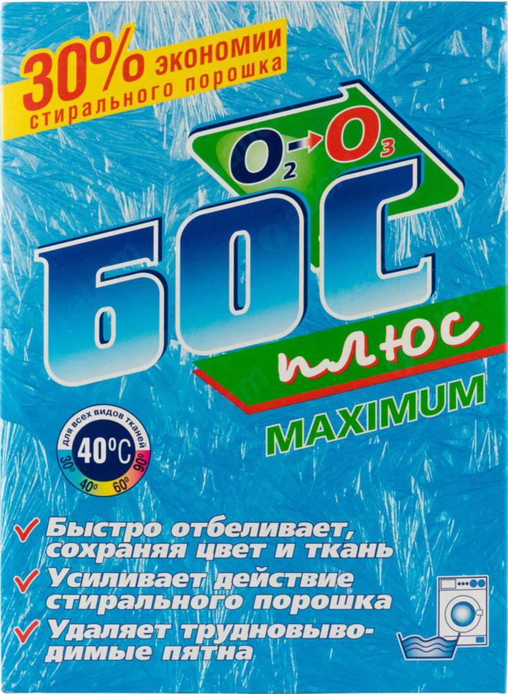 Отбеливатель порошковый БОС плюс maximum 600 г