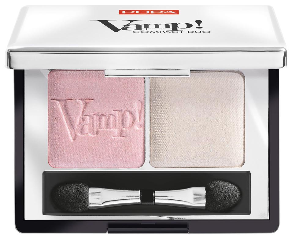 Купить Тени для век PUPA Vamp! Compact Duo Eyeshadow 001 Rose Perlage 2, 2 г