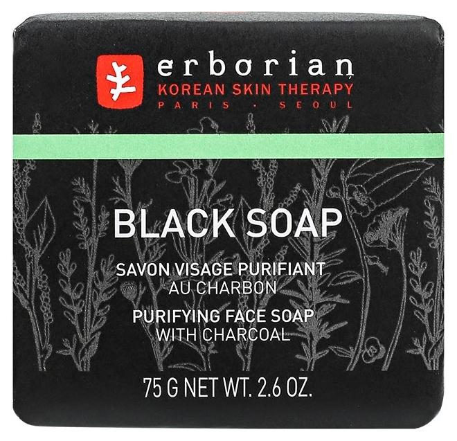 Косметическое мыло Erborian Черное с углем