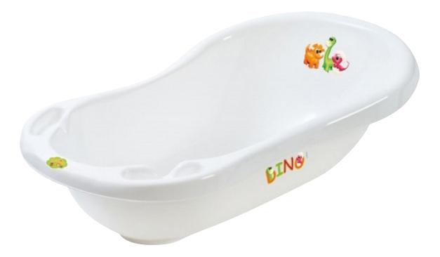 Купить Ванночка пластиковая Maltex Динозаврики белый,