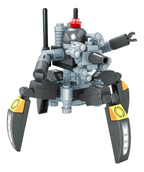 Конструктор пластиковый Ausini Герои - Робот-паук 74 детали