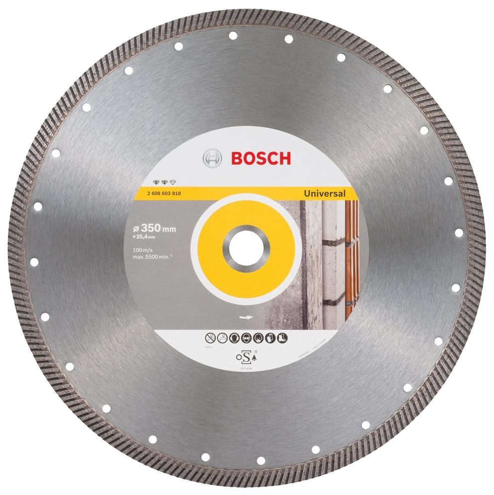 Алмазный диск Bosch Ef UniversalT 350-25,4 2608603818