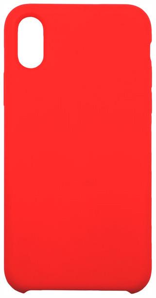Накладка InterStep Soft-T Metal ADV Red для iPhone X