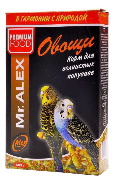 Основной корм Mr.Alex для попугаев 500