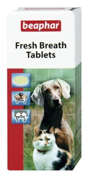 Таблетки для свежего дыхания питомца Beaphar