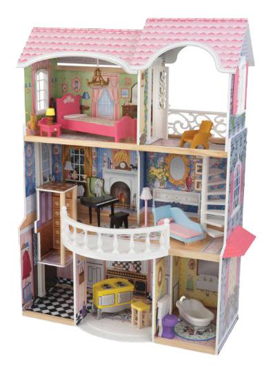 Купить Домики для барби 30 см, Домики для Barbie 30 см KidKraft 65907_KE, Кукольные домики