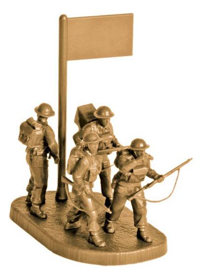 Купить Модели для сборки Zvezda Британские разведчики 1939-1945
