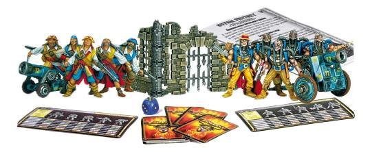 Игра-конструктор набор солдатиков Охота на зомби Битва Fantasy Технолог