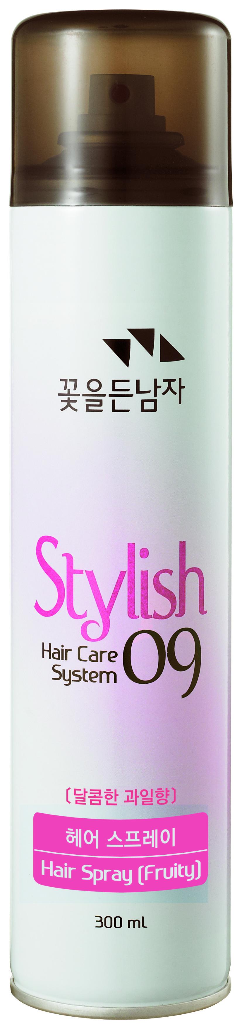 Лак для волос Flor de Man Hair Care System 09 Fruity 300 мл.