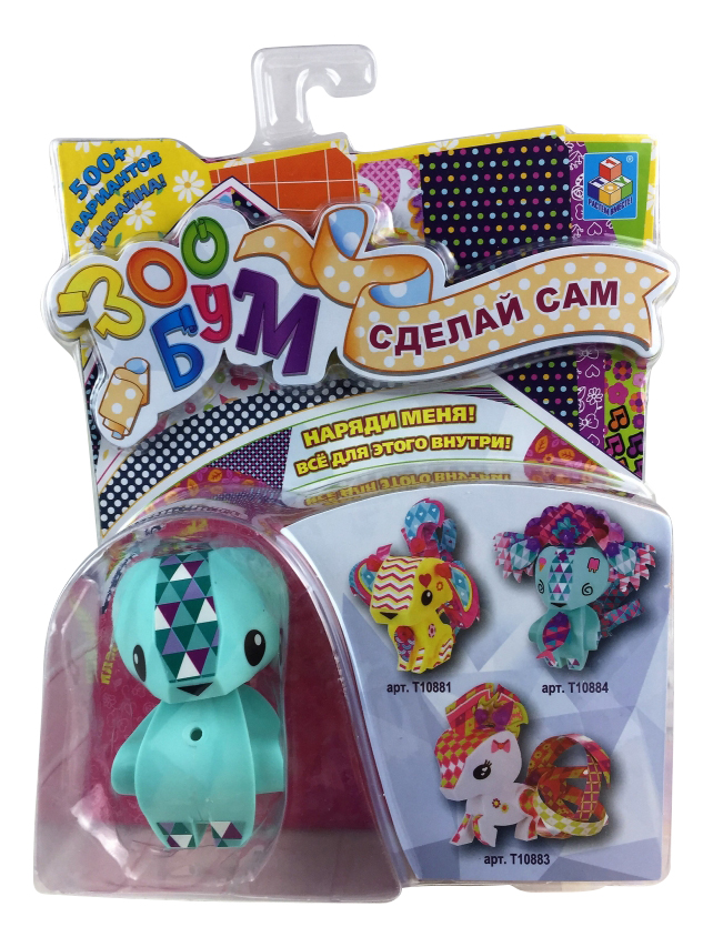 Купить Набор для детского творчества ЗооБум Полярный мишка 1TOY Т10884, 1 TOY, Детские аппликации