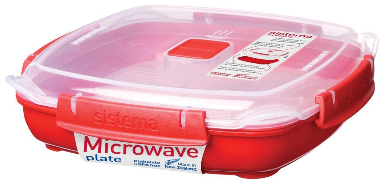 Контейнер Sistema Microwave 1105 Красный