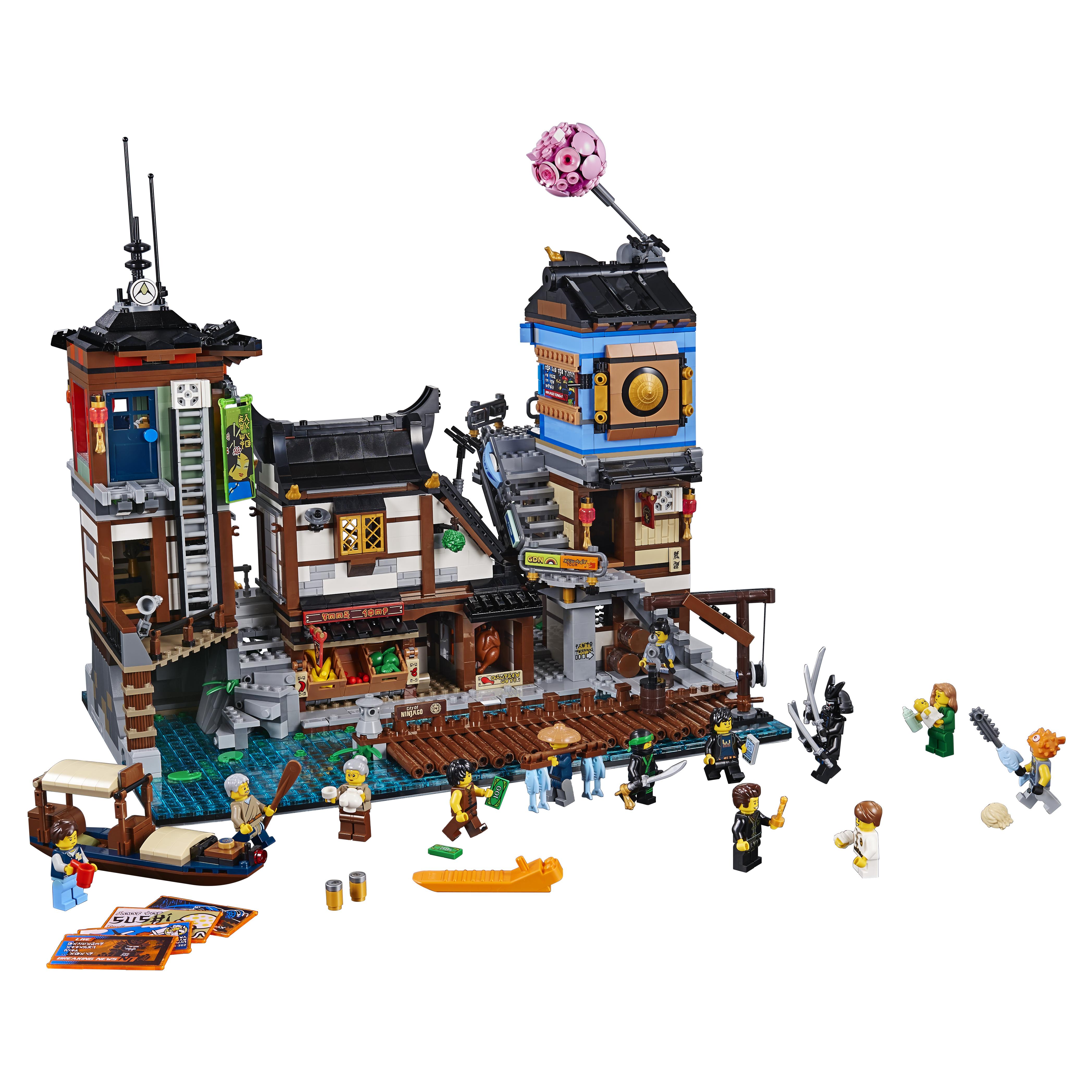 Конструктор LEGO Ninjago Порт Ниндзяго Сити 70657 LEGO фото