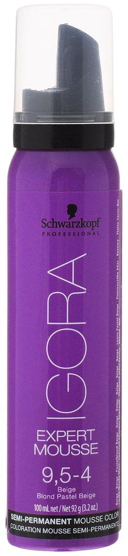 Купить Мусс для волос Schwarzkopf Igora Expert Mousse 9, 5-4, Schwarzkopf Professional