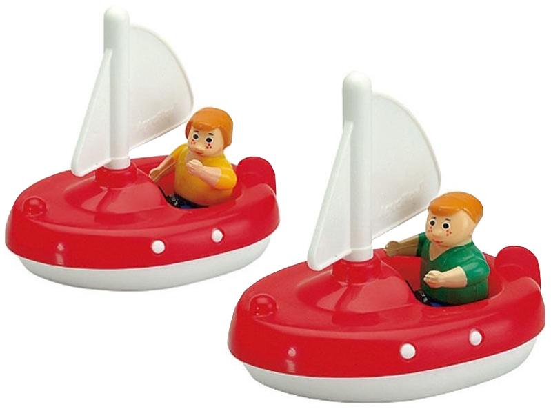 Купить AQUAPLAY Игровой набор игрушки для воды Акваплей Парусники с фигурками 222 в упаковке, Игрушки для купания малыша