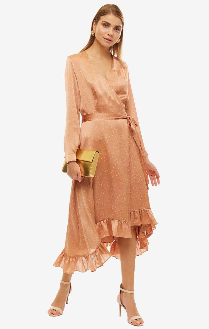 Платье женское ALISIA HIT бежевое