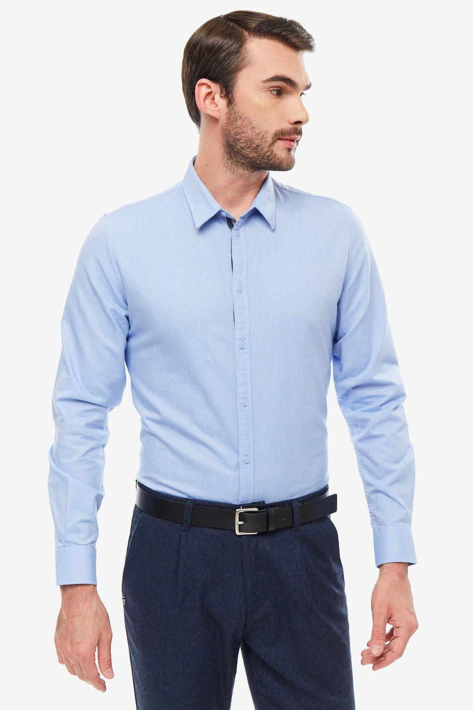 Рубашка мужская Gaudi синяя