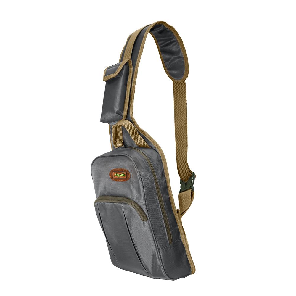 Сумка-рюкзак одноплечевая Aquatic С-32С (синяя) фото