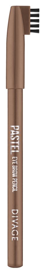 Карандаш для бровей Divage Pastel Eyebrow Pencil 1104