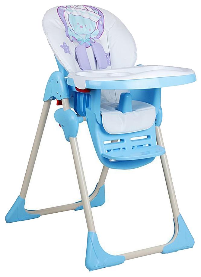 ГЛОБЭКС Стул-стол для кормления КОСМИК регулируемый Фиолетовый 1407