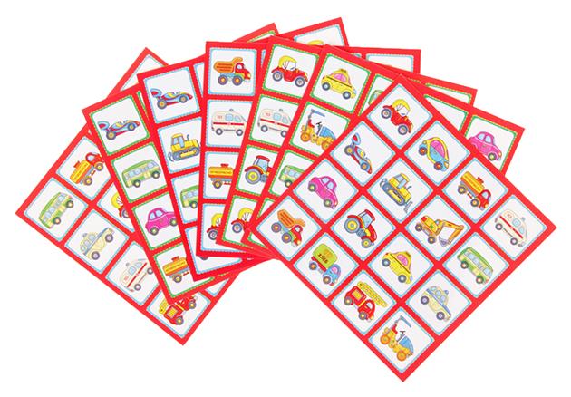 Купить Дрофа-медиа Настольная игра Бинго. Машинки, арт. 2961, Дрофа-Медиа, Семейные настольные игры