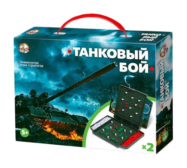 Семейная настольная игра Десятое Королевство Танковый бой мини