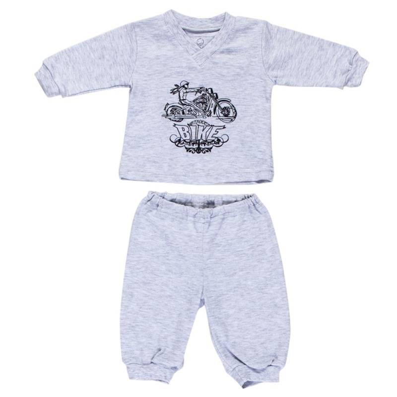 Купить 114-Б-М, Комплект Nice-Kid, цв. серый, 68 р-р, Комплекты для новорожденных