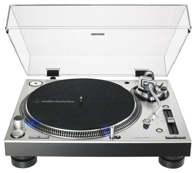 Проигрыватель виниловых пластинок Audio-Technica AT-LP140XPSVE Silver фото