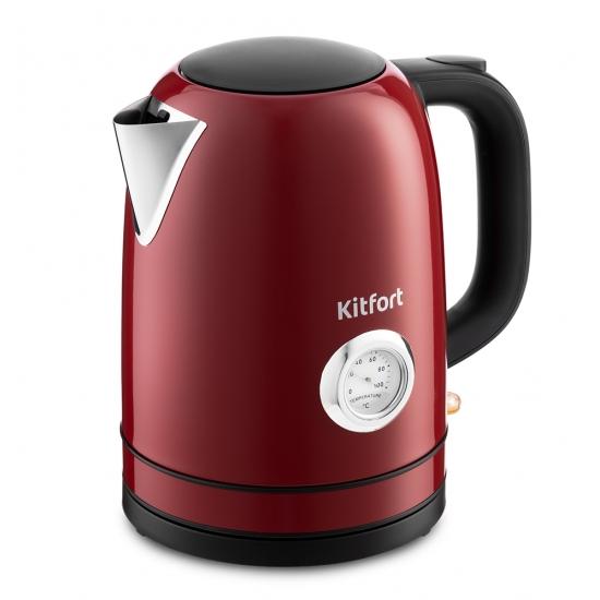 Чайник электрический Kitfort КТ-683-2 Maroon