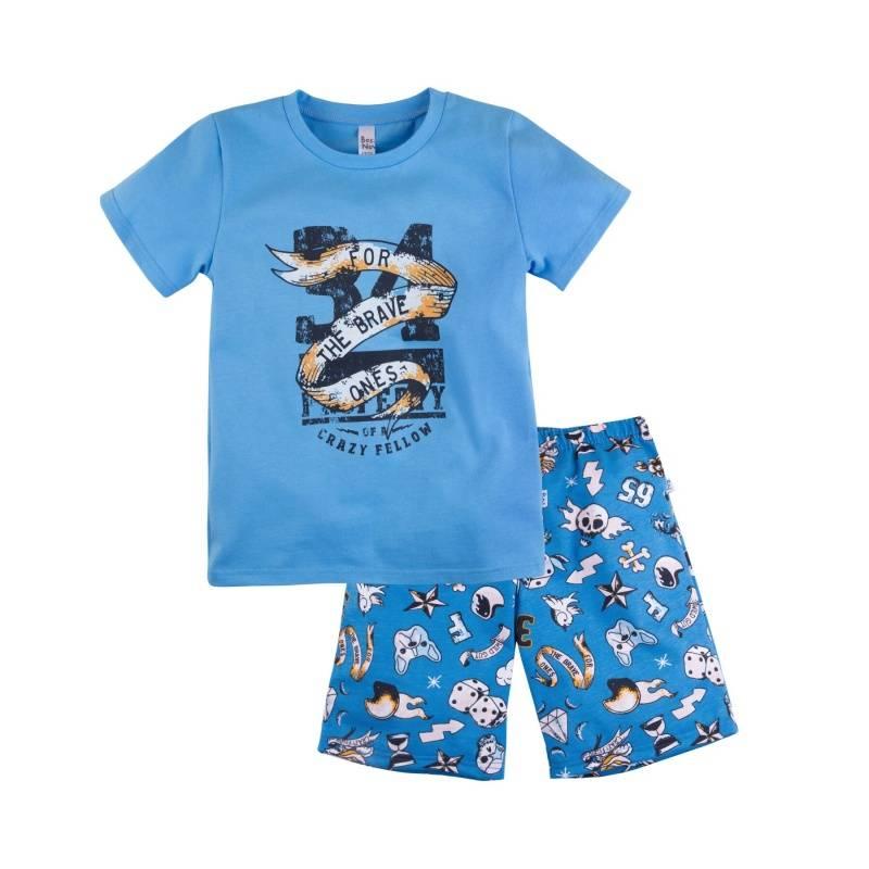 Купить Пижама Тату Bossa Nova, цв. голубой, 104 р-р, Детские пижамы
