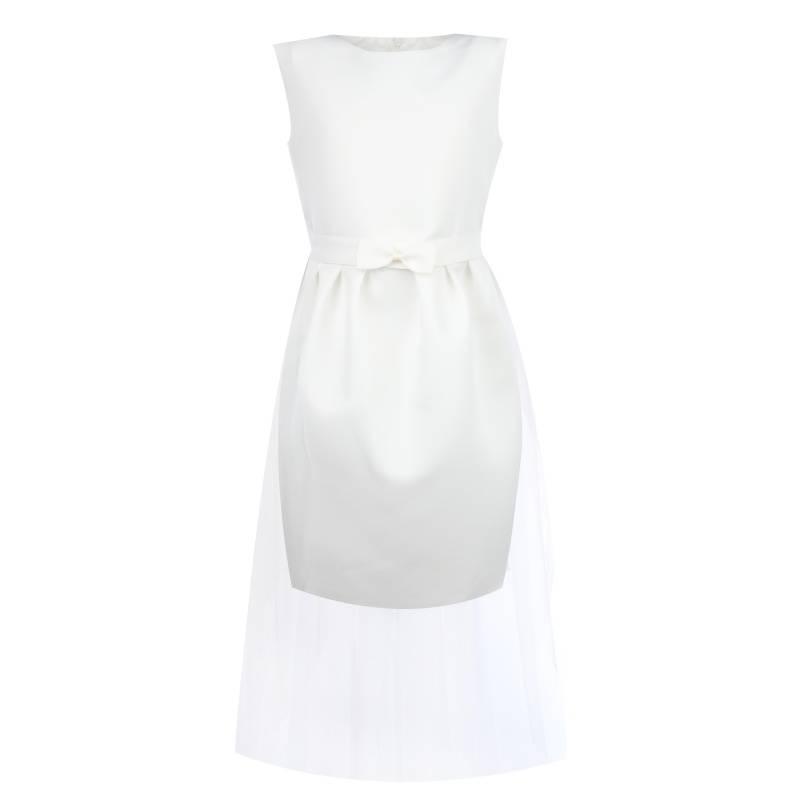 Купить Платье Футляр UNONA D'ART, цв. белый, 146 р-р, Детские платья и сарафаны