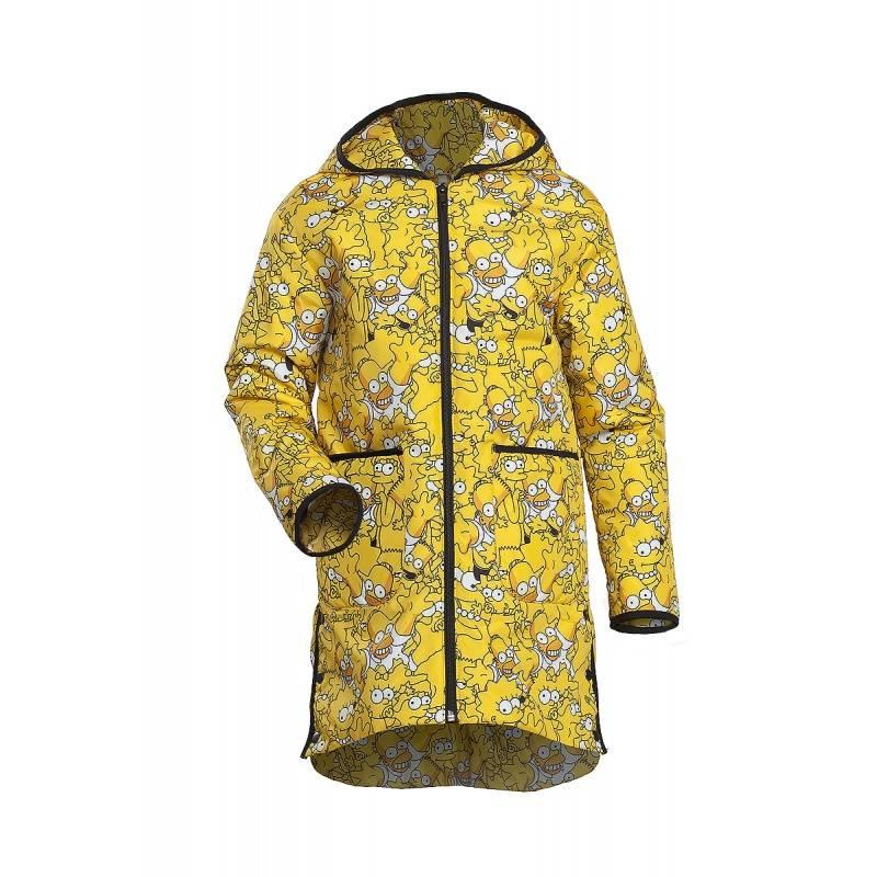 Купить Дд-0411, Куртка Симпсон URSINDO, цв. желтый, 110 р-р, Куртки для девочек