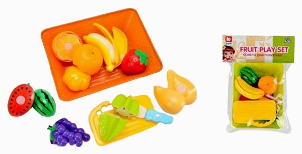 Купить Игровой набор Наша Игрушка Продукты, 10 предметов, Наша игрушка, Игрушечные продукты