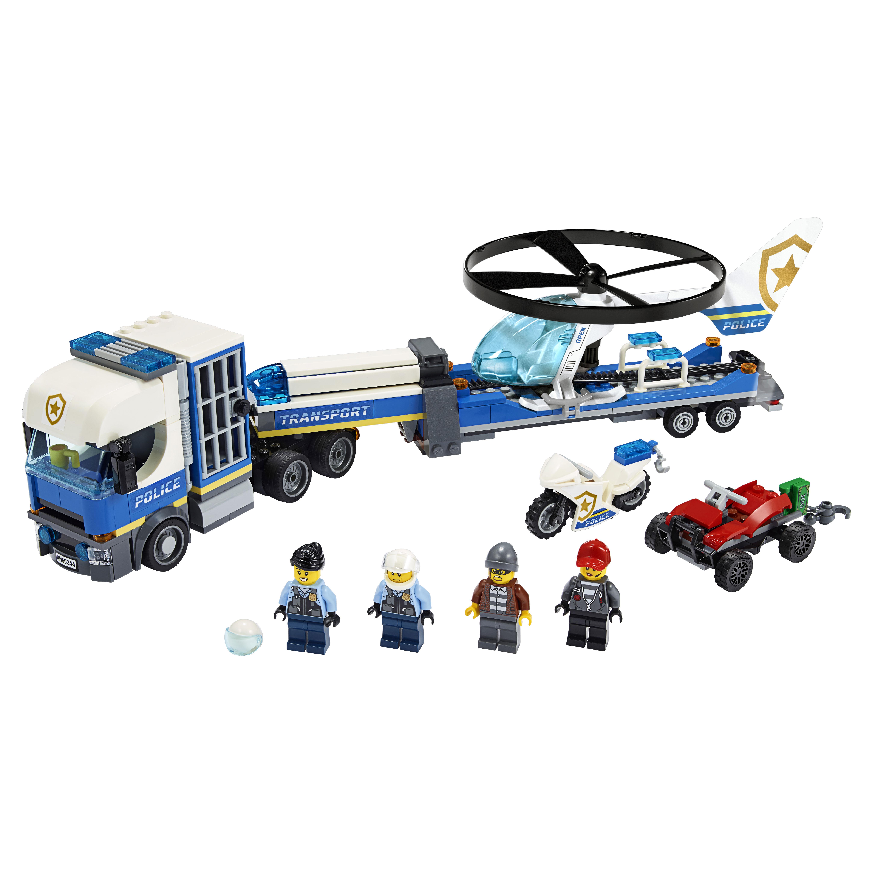 Конструктор LEGO City Police 60244 Полицейский вертолётный