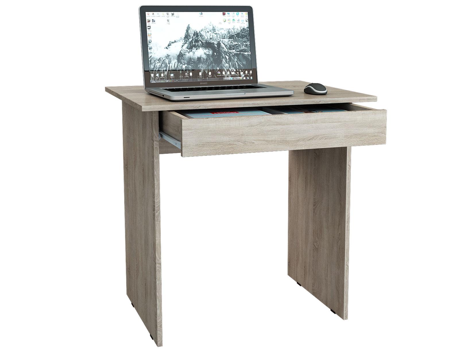 Компьютерный стол для ноутбука МФ Мастер Милан-2Я Дуб Сонома