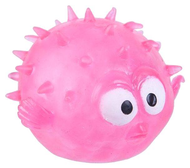 Купить Чудики Bondibon Детская Игрушка-Антистресс Мякиш Рыба-Еж, Жвачка для рук