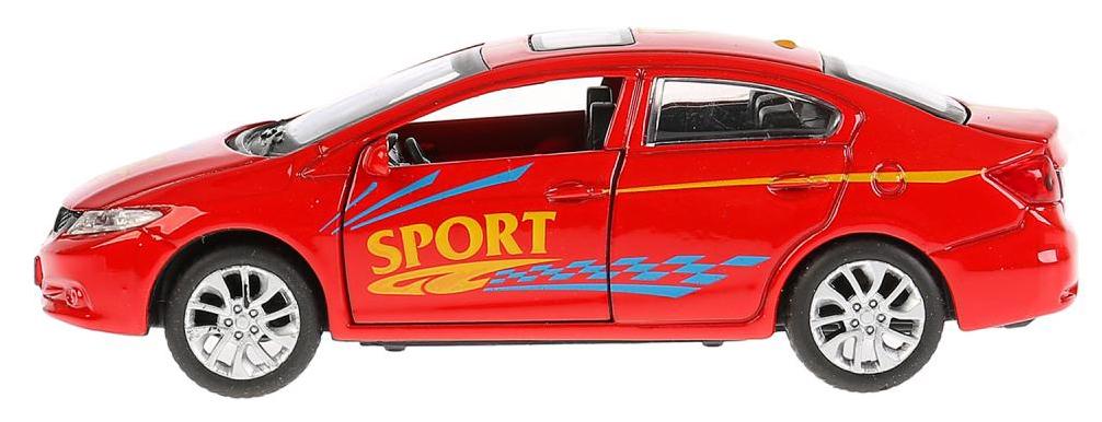 Купить Машина инерционная Honda Civic спорт, 12 см, Технопарк, Коллекционные модели