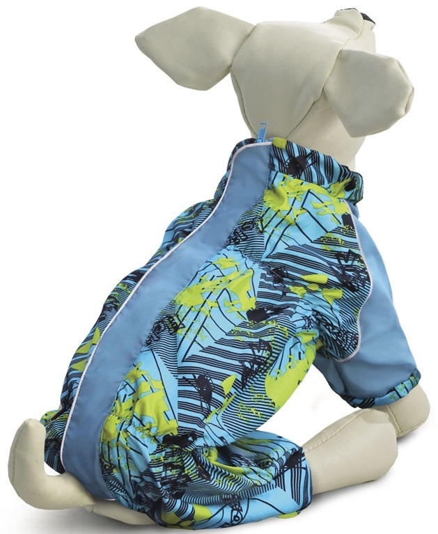 Комбинезон для собак Gamma Такса, демисезонный, мужской, XL, спина 46 см