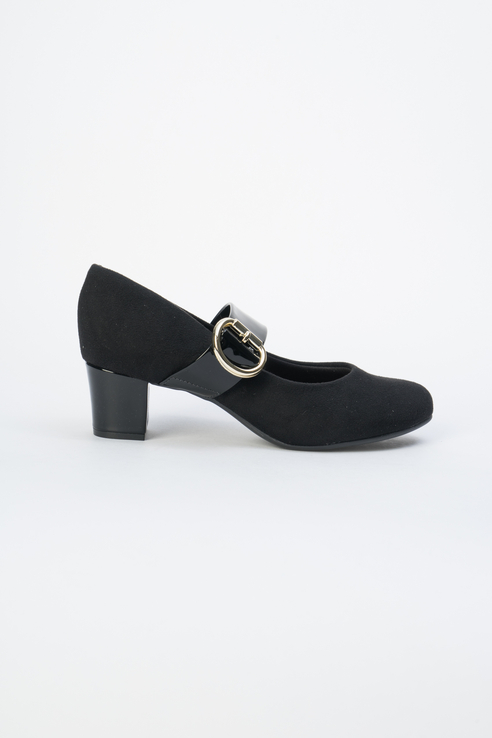 Туфли женские Beira Rio 645-01-BBR-01-TT черные 40 RU фото