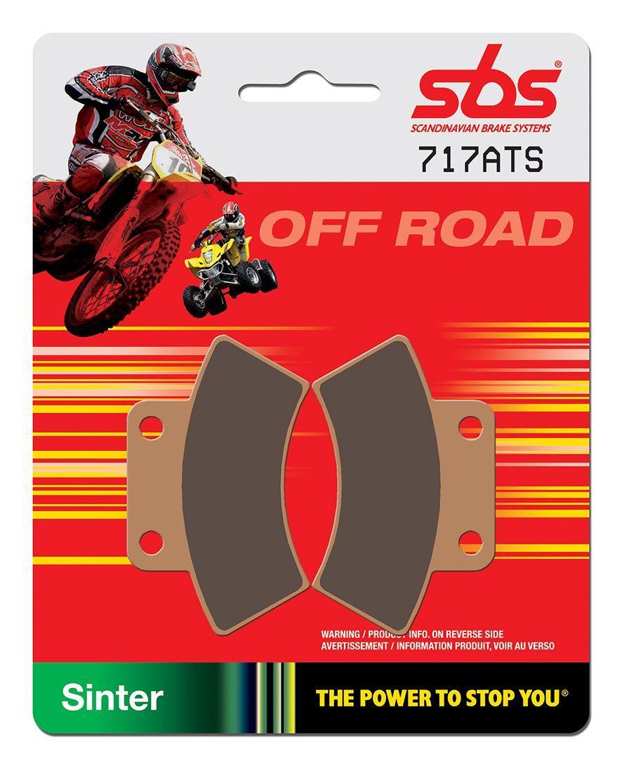 Тормозные колодки передние/задние SBS 717ATS для квадроциклов Polaris 2202411