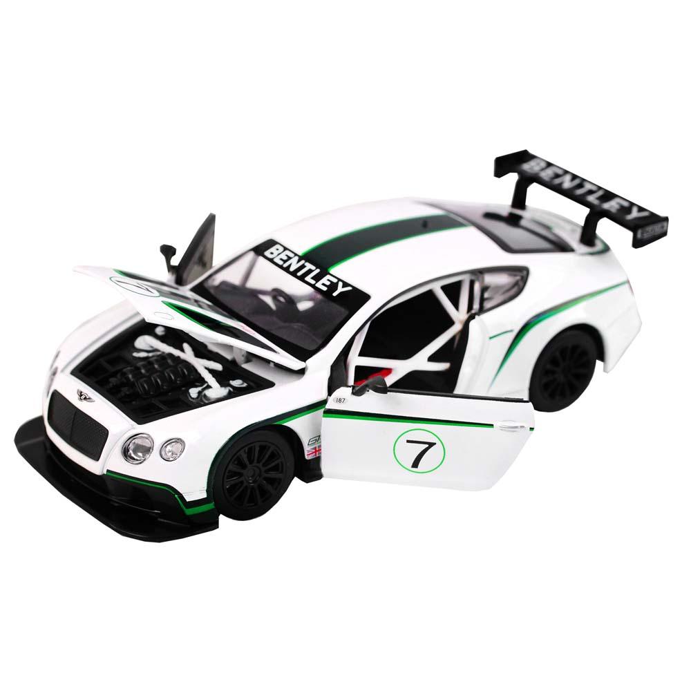Купить Машинка металлическая Автопанорама Bentley Continental GT3 Concept масштаб 1:24 JB1200125,